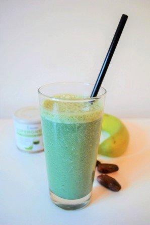 Raňajkové smoothie s avokádom, recept