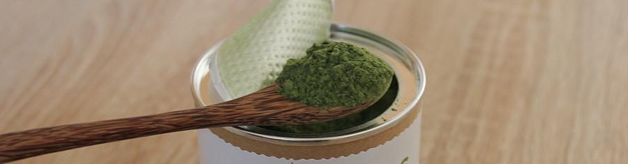 Spirulina, zelené potraviny - prášek