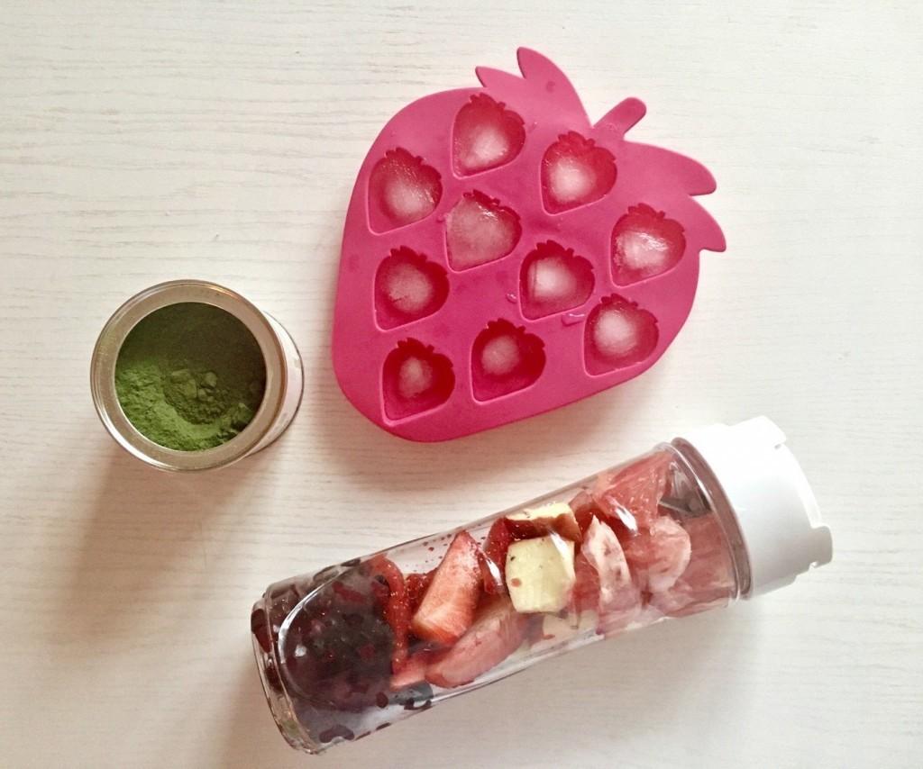 valentýnský smoothie recept
