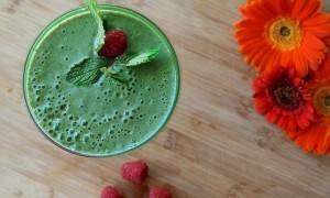 Zelené smoothie, chlorella