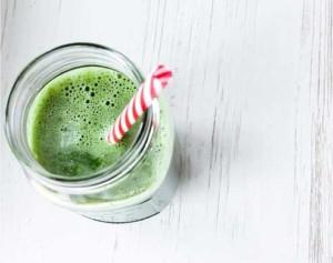 Mladý ječmen - zelené smoothie
