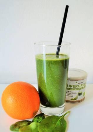 zeleninové smoothie se špenátem