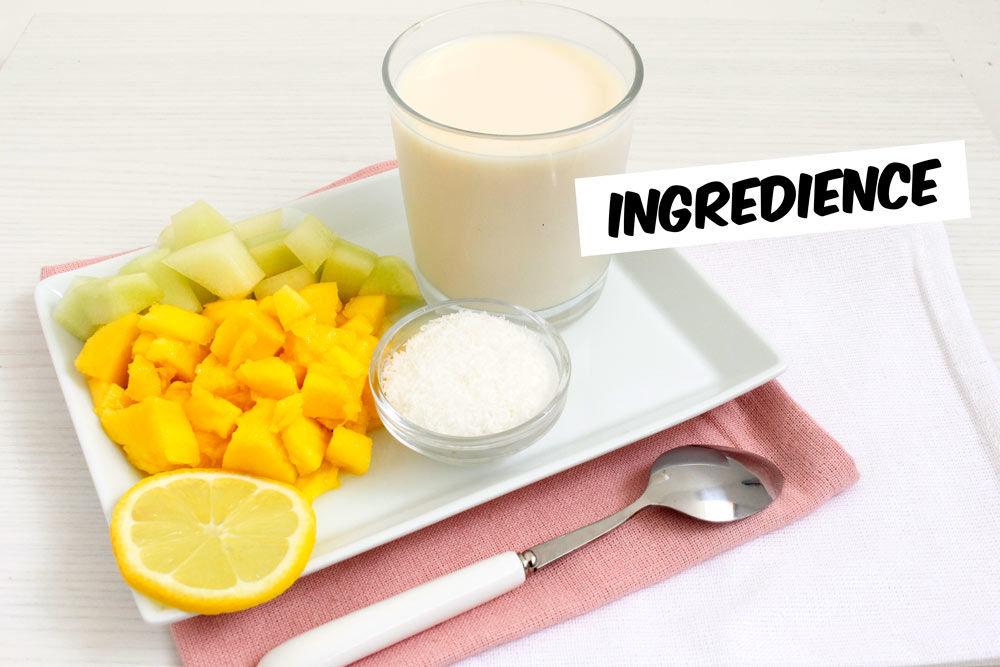 Smoothie ingredience.