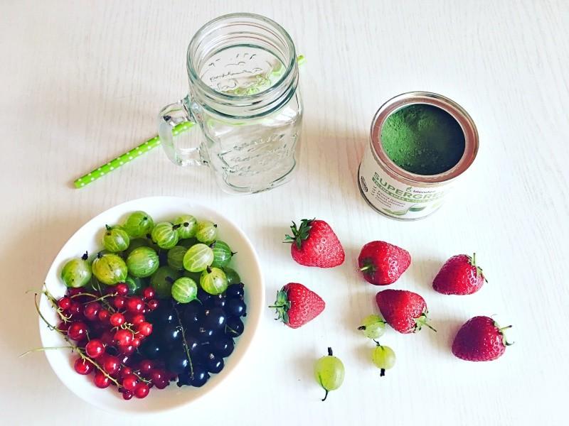 zahradní plody do smoothie