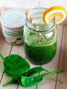 melounovo-okurkové smoothie se špenátem