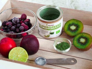 suroviny na nektarinkove smoothie