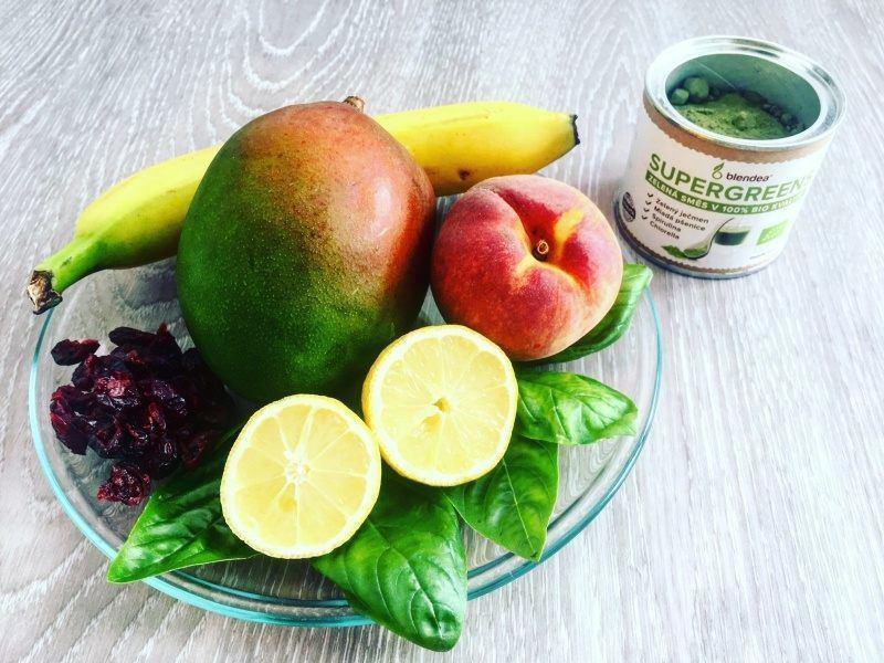 mango broskev a citrony