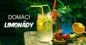Dommaci limonady a pitny rezim v lete