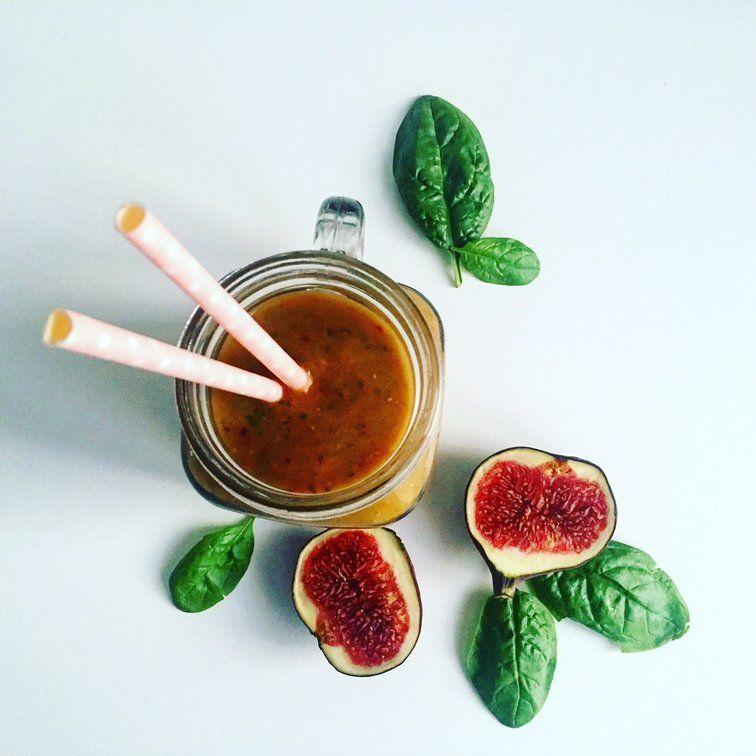 fíkové smoothie