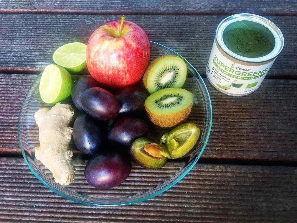 recept na švestkové smoothie