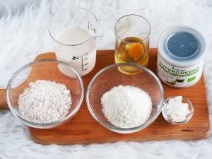 suroviny na kokosové sušenky