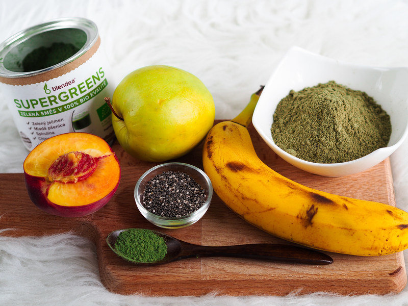proteinové smoothie recept