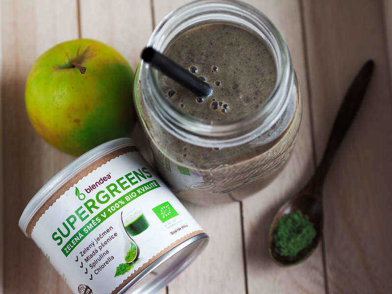 proteinové smoothie s Blendeou