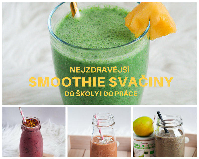 smoothie svačiny do školy