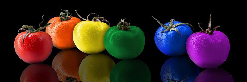 syntetická éčka v rajčatech