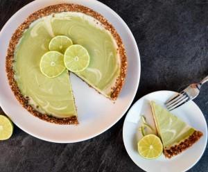 nepečený raw cheesecake
