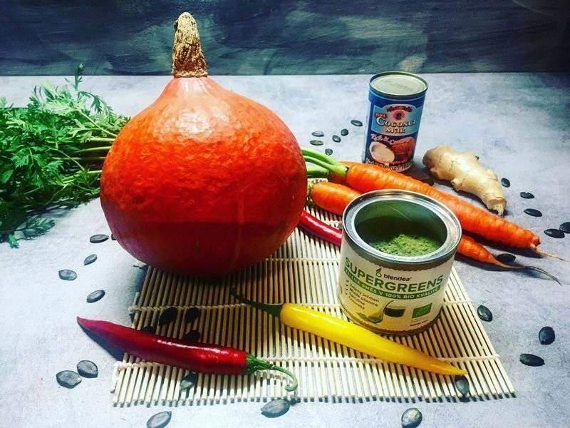 dýňová polévka z Hokaida recept