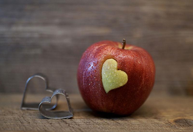 jablka v zimním jídelníčku