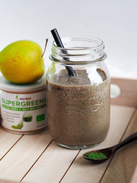 proteinové jablečné smoothie