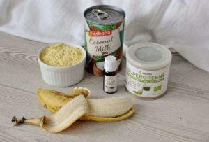 recept na zdravé zelené lívance