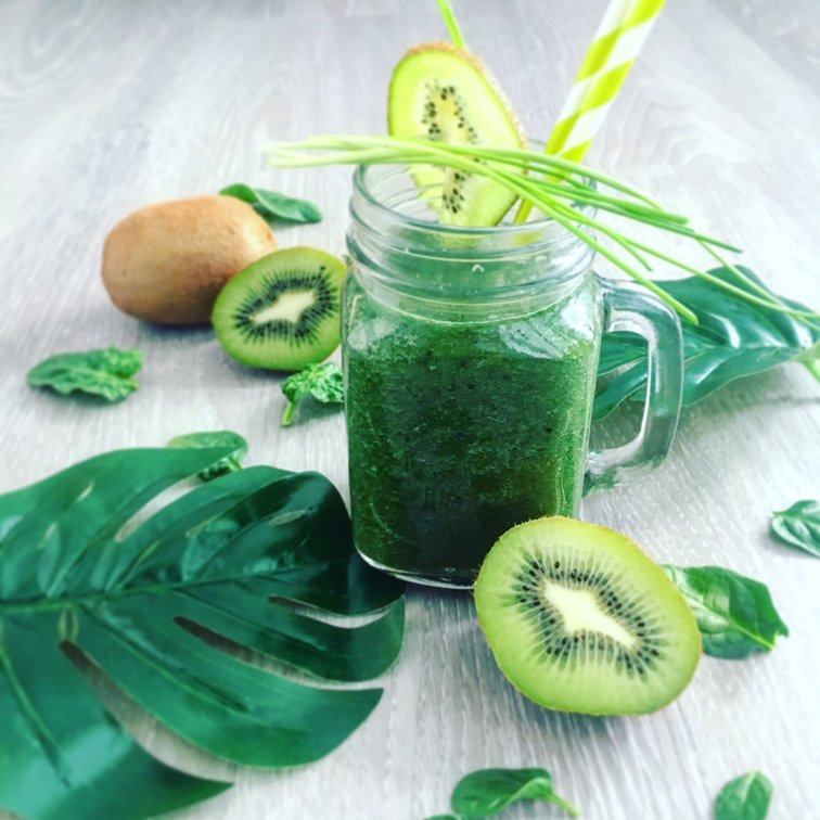 smoothie s kiwi a blendeou