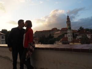 Gábi s manželem