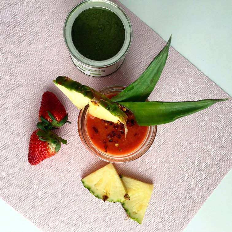 hubnoucí paprikové smoothie