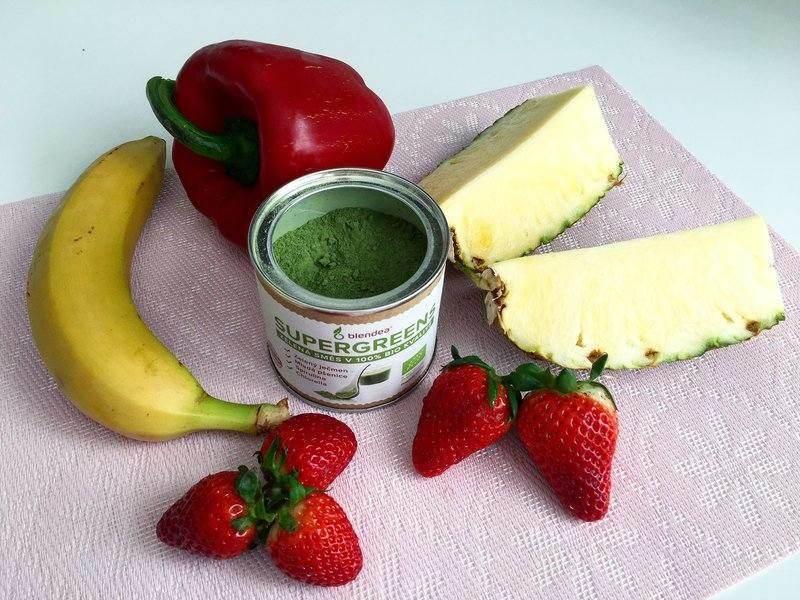 paprikovo-ananasové smoothie na hubnutí