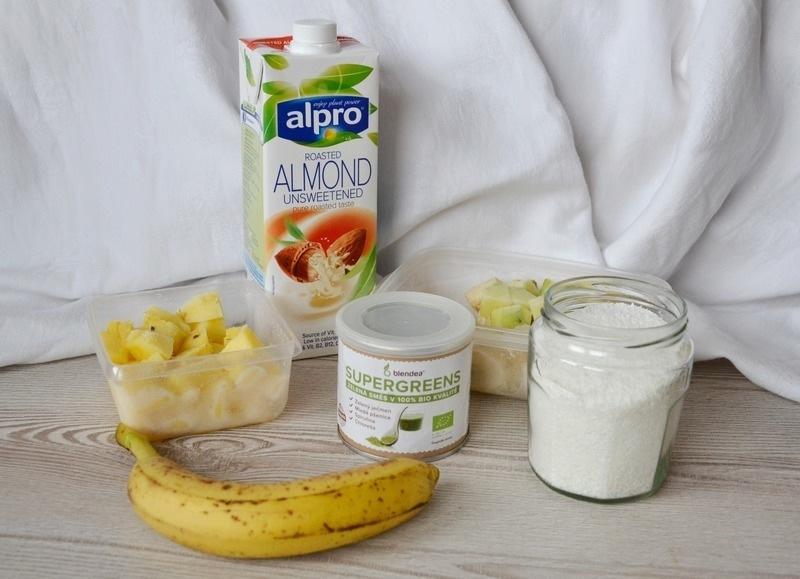 recept na banánovo-cuketovou zmrzlinu