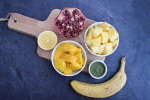 recept na tropické smoothie