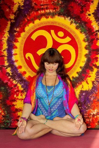 meditace během jógy