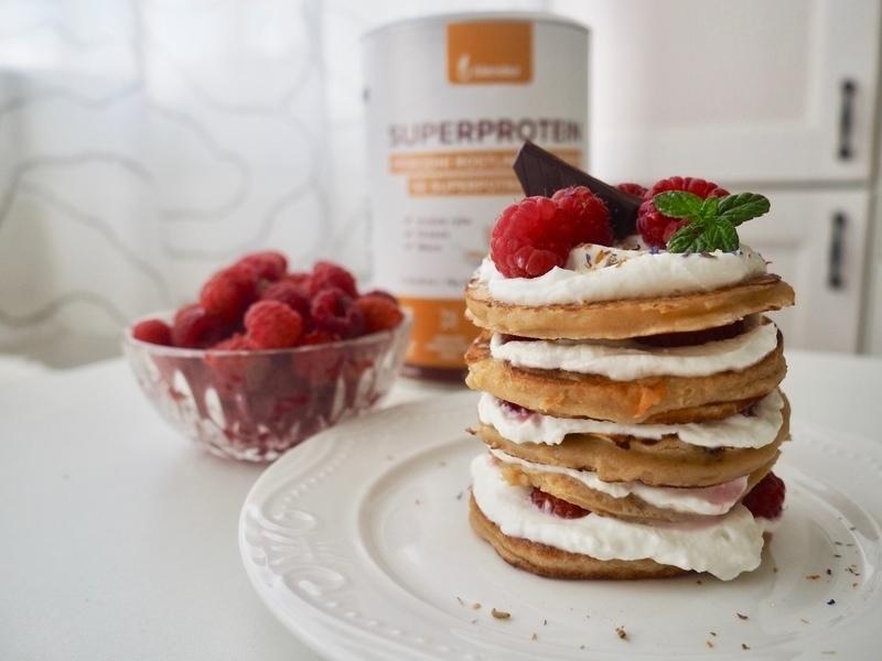 proteinové lívance recept