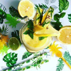 ananasové letní smoothie