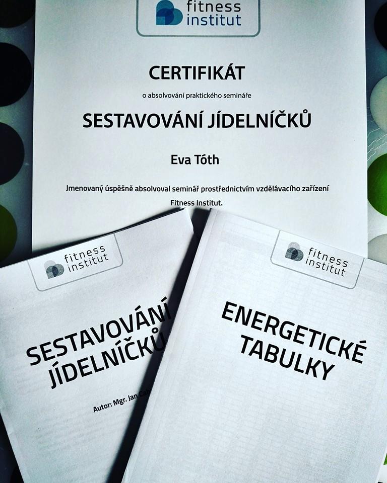 certifikáty Evy Toth
