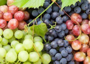 superpotravina hroznvé víno