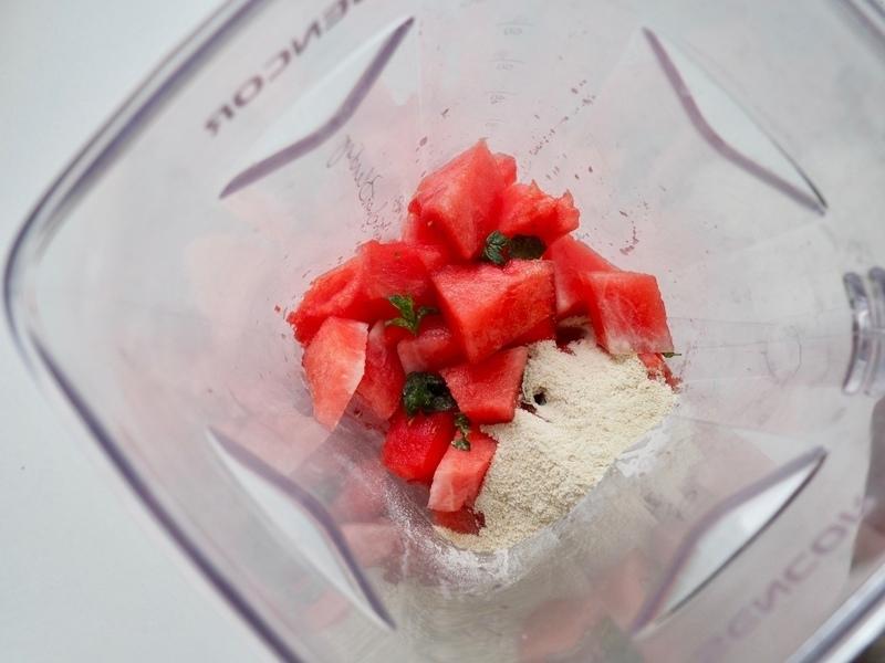 melounová dřeň recept
