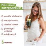 Proč užívat Blendea Supergreens.