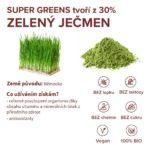 Stručné informace o ingredienci zelený ječmen