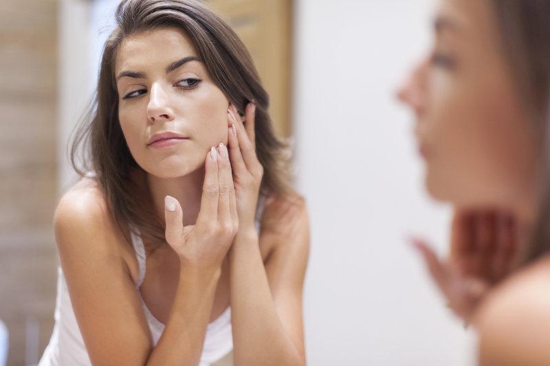 zdravá pleť bez akné