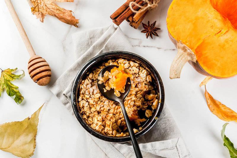 hřejivá podzimní snídaně