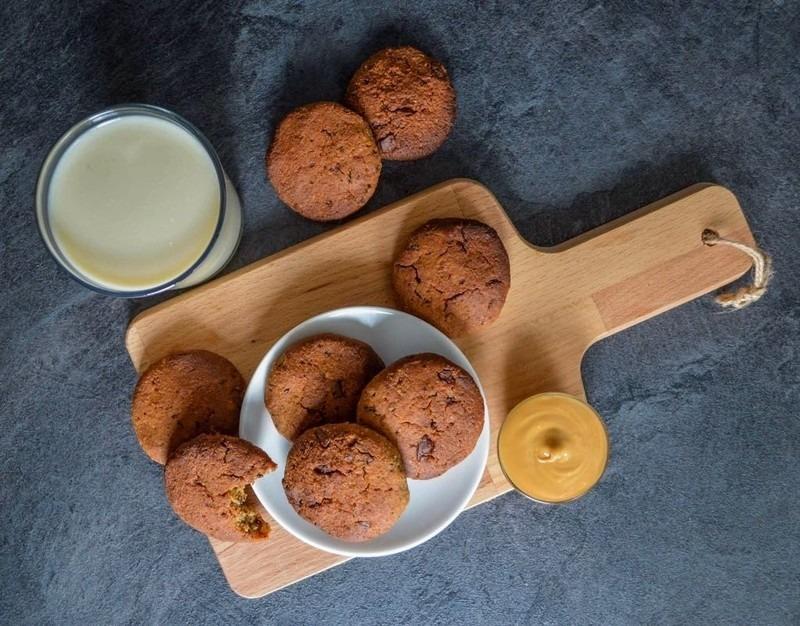 domácí cizrnové sušenky