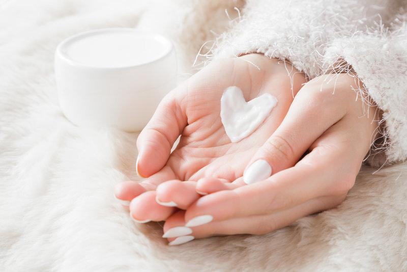 hydratace rukou v zimě