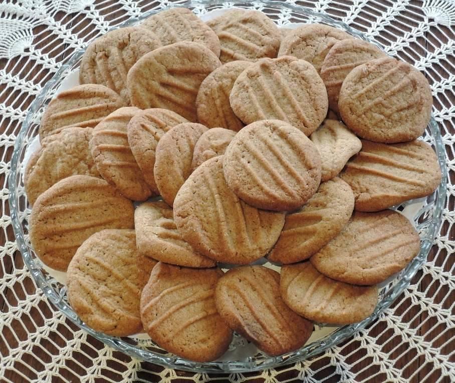 sušenky s melasou