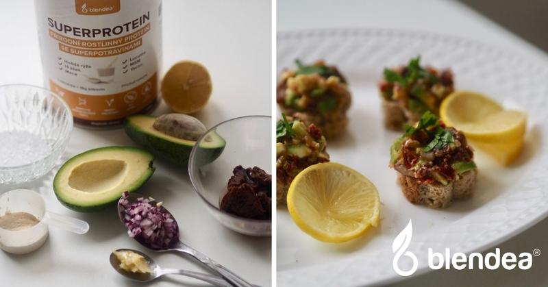 avokádový tataráček recept