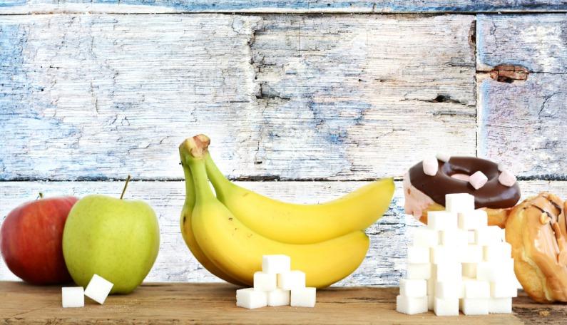 obsah cukru v potravinách