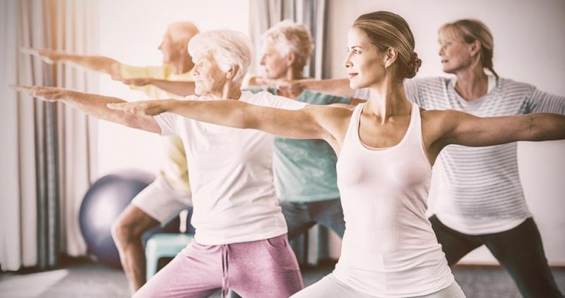 hormonální jóga pro hormonální rovnováhu