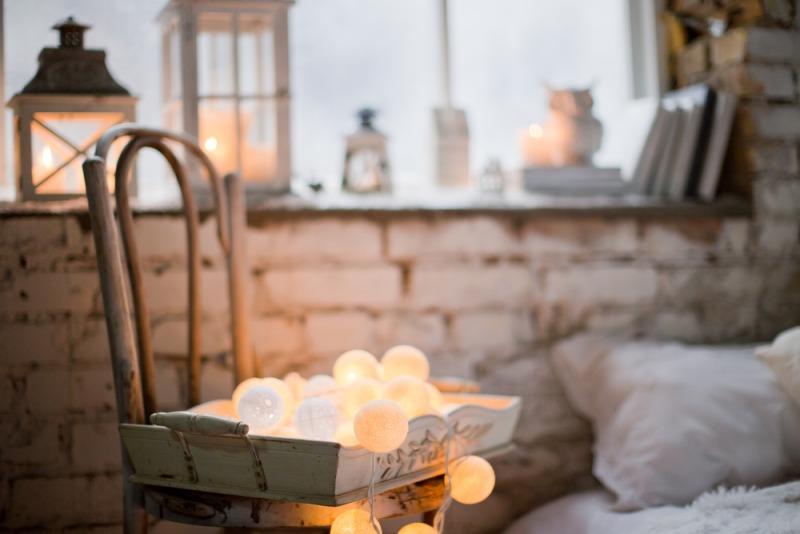 světelné doplňky proti zimní únavě