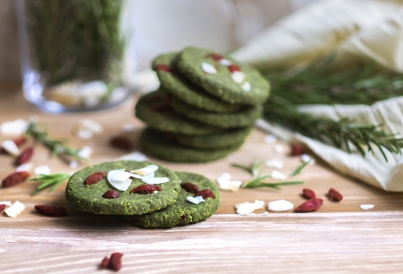 vánoční sušenky s Blendea SUPERGREENS