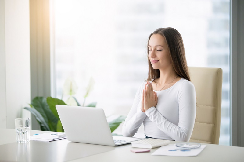 v práci bez stresu