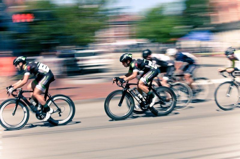 energetický výdej cyklistika